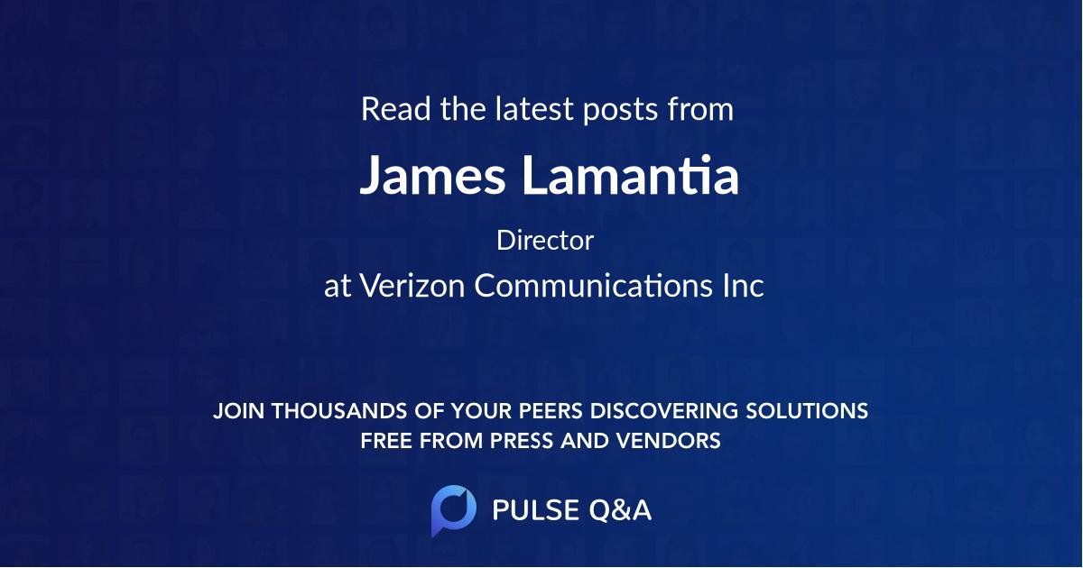 James Lamantia
