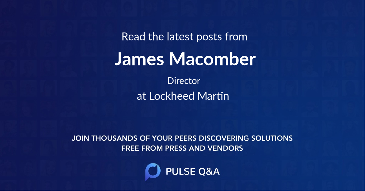 James Macomber