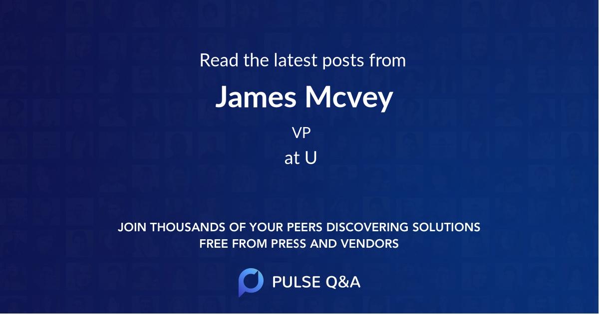 James Mcvey
