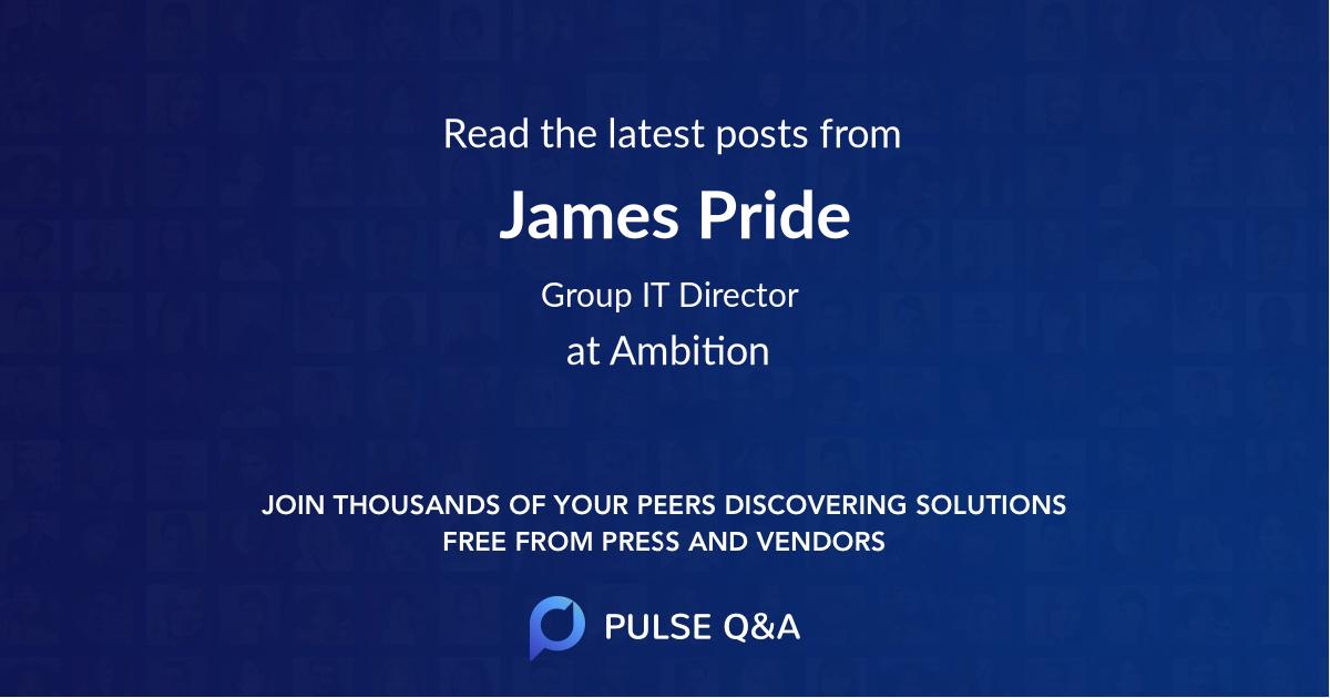 James Pride