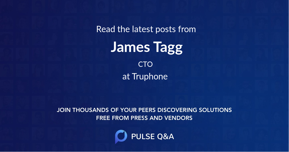 James Tagg