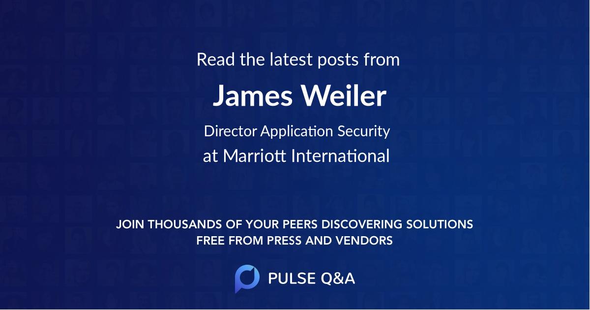 James Weiler