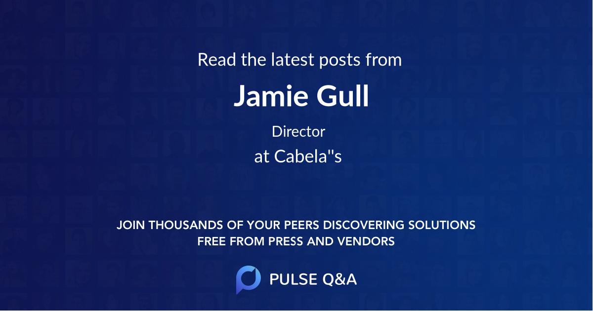 Jamie Gull