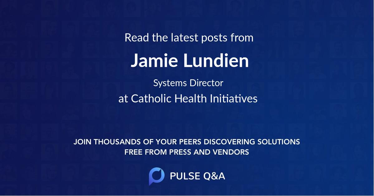 Jamie Lundien
