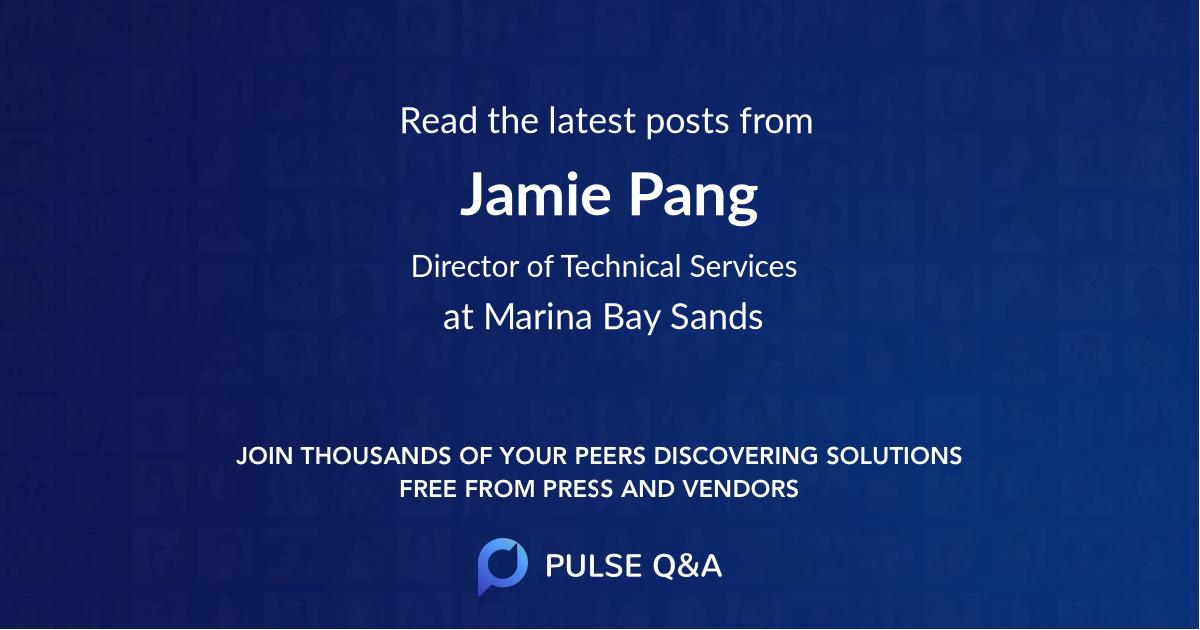 Jamie Pang