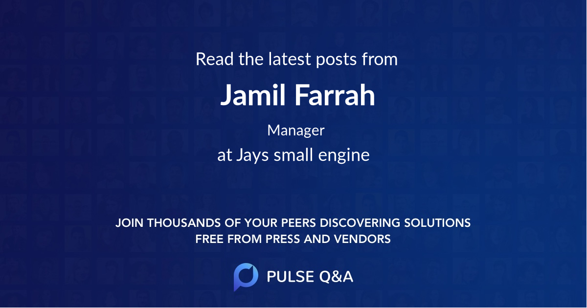 Jamil Farrah