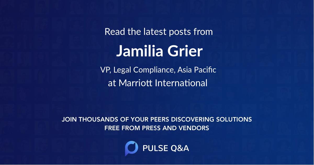Jamilia Grier