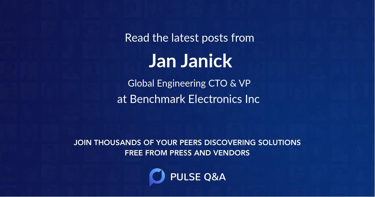 Jan Janick