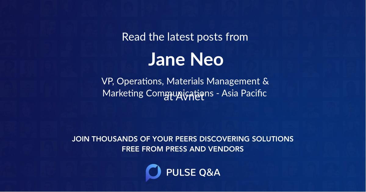 Jane Neo
