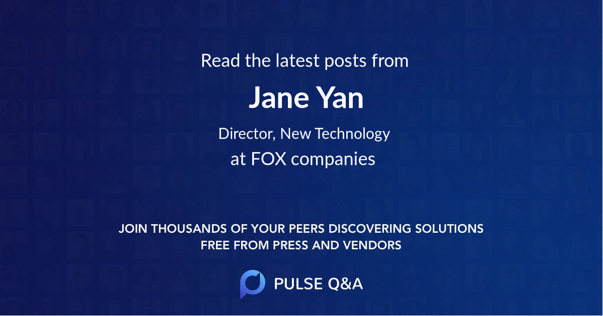 Jane Yan