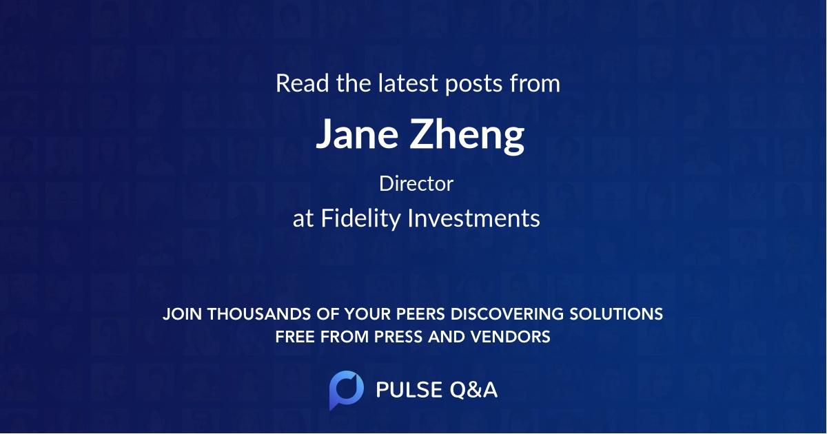Jane Zheng