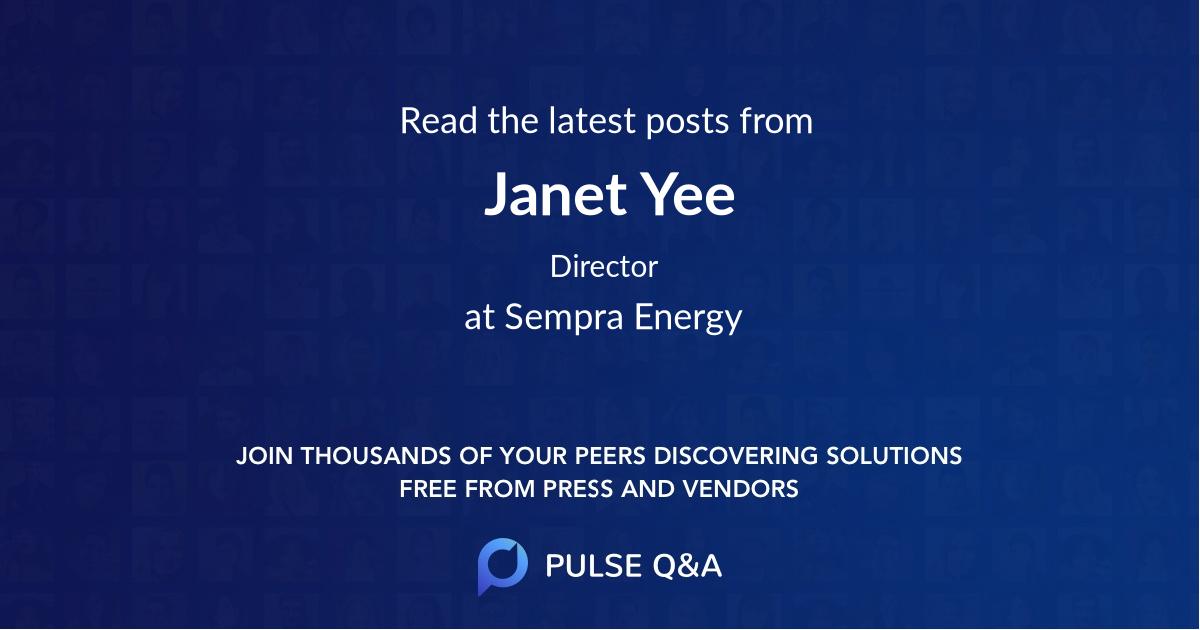 Janet Yee