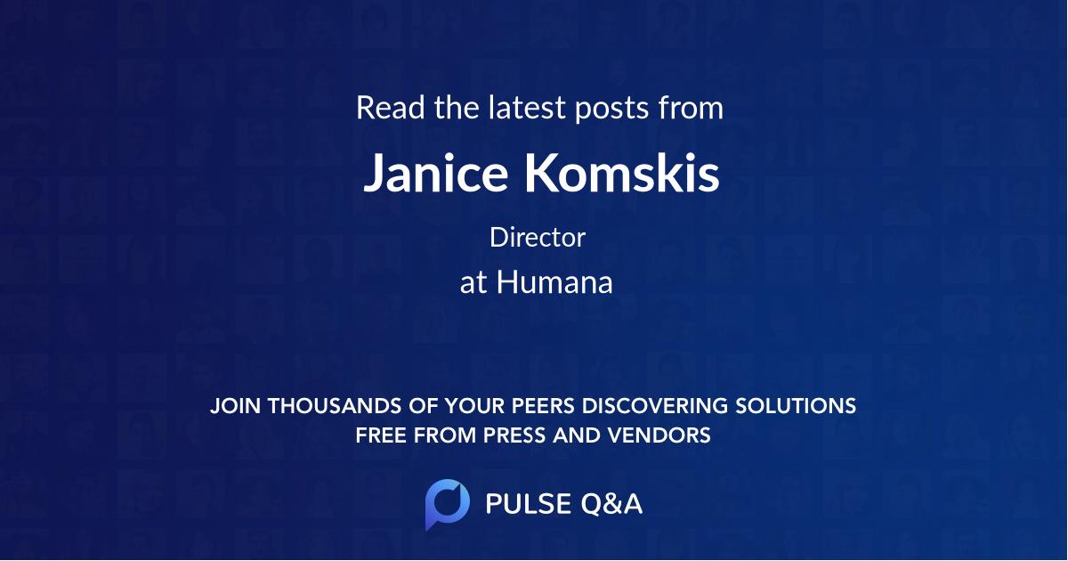Janice Komskis
