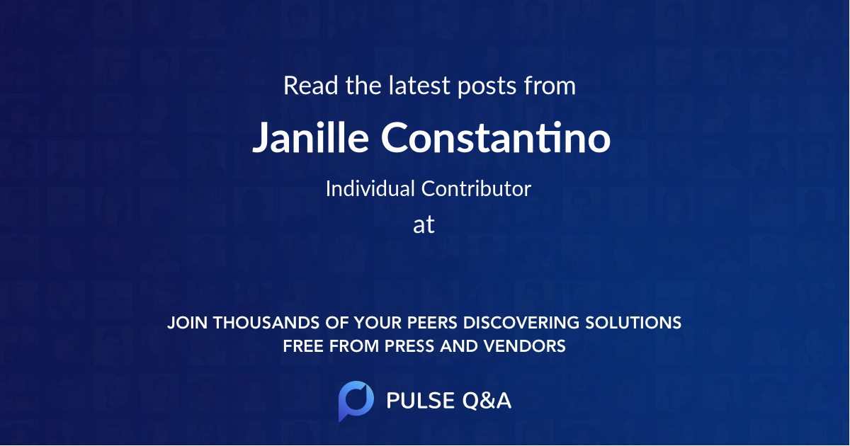 Janille Constantino