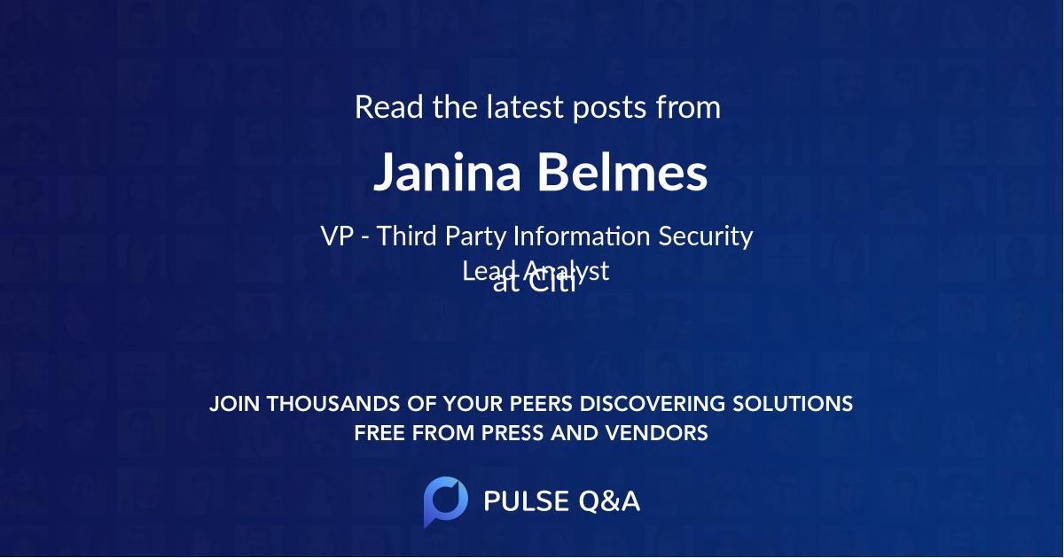 Janina Belmes