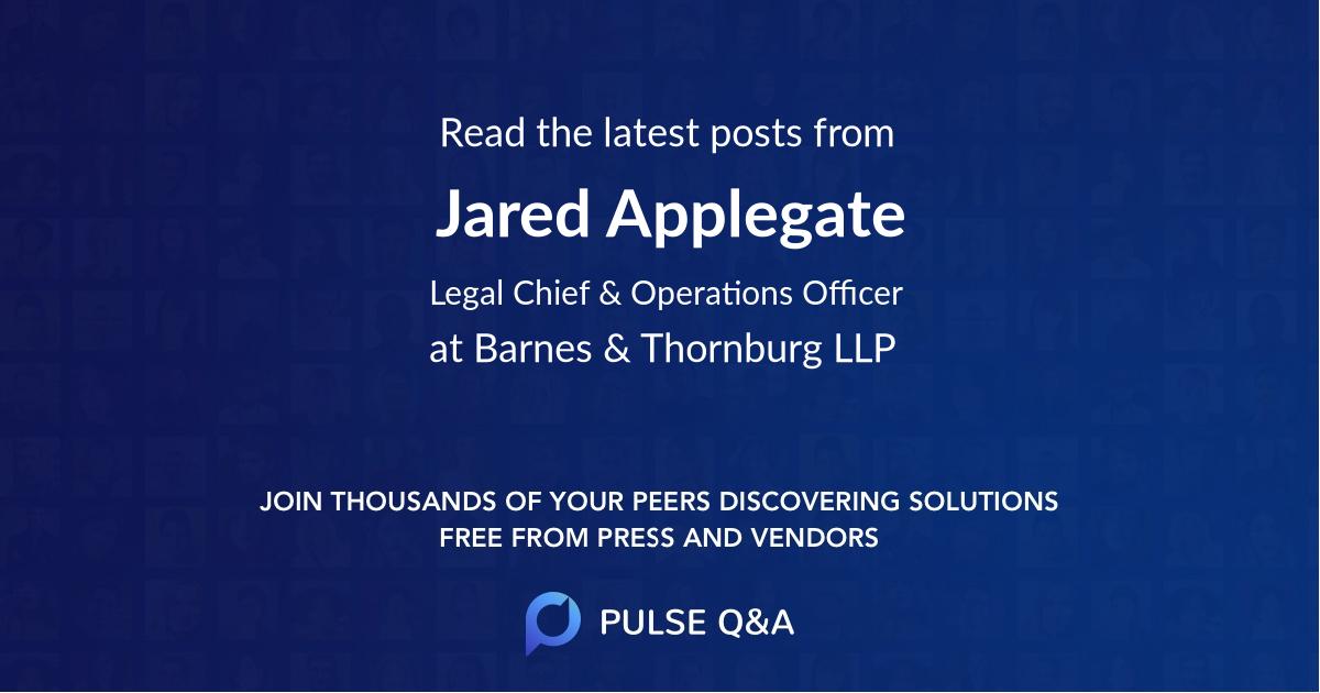 Jared Applegate