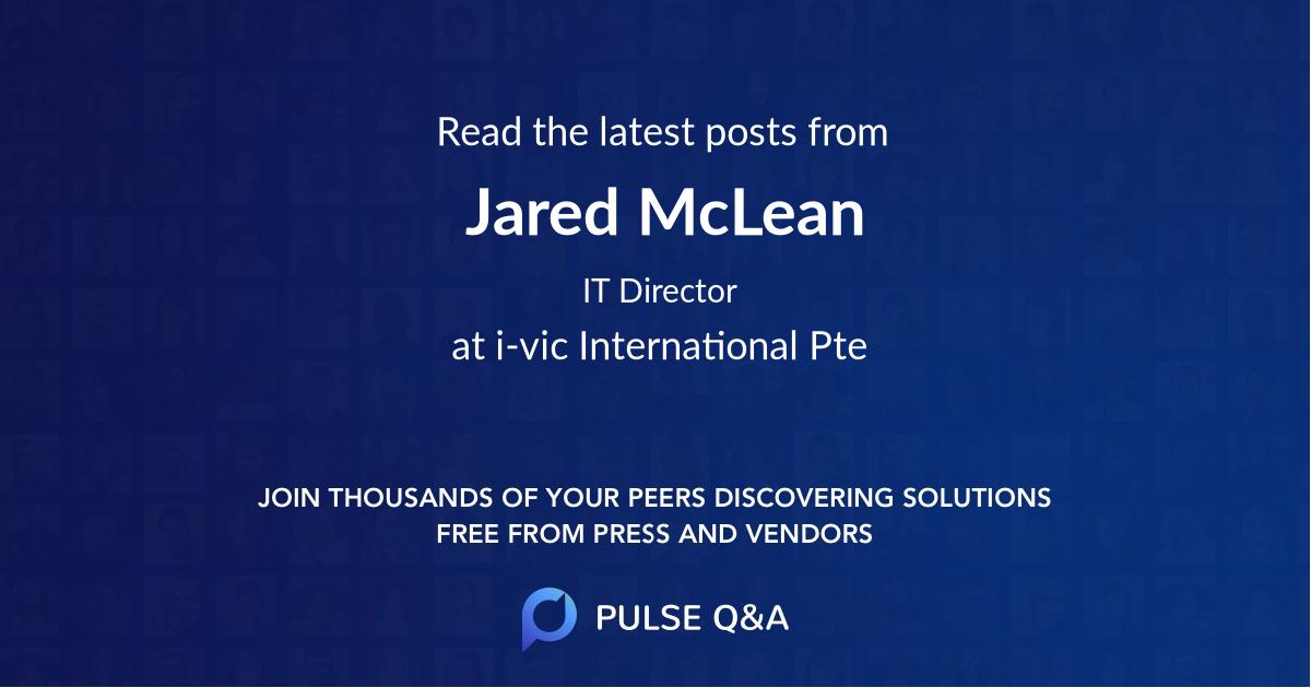 Jared McLean