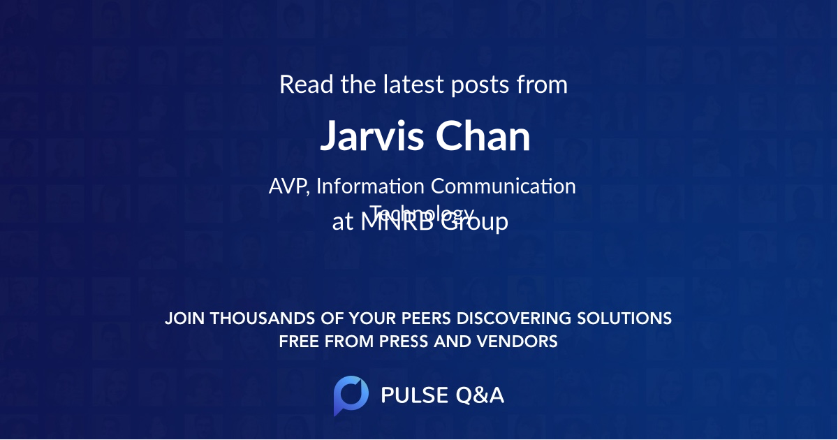 Jarvis Chan