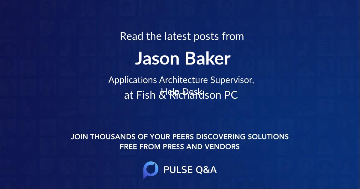 Jason Baker