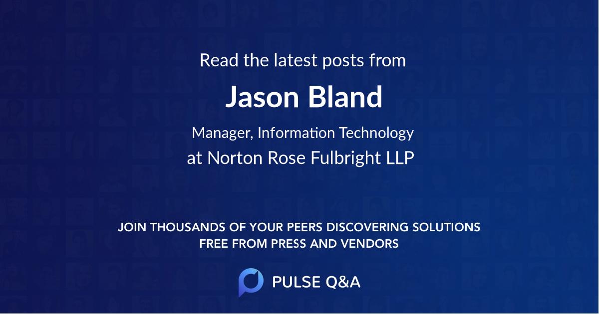 Jason Bland