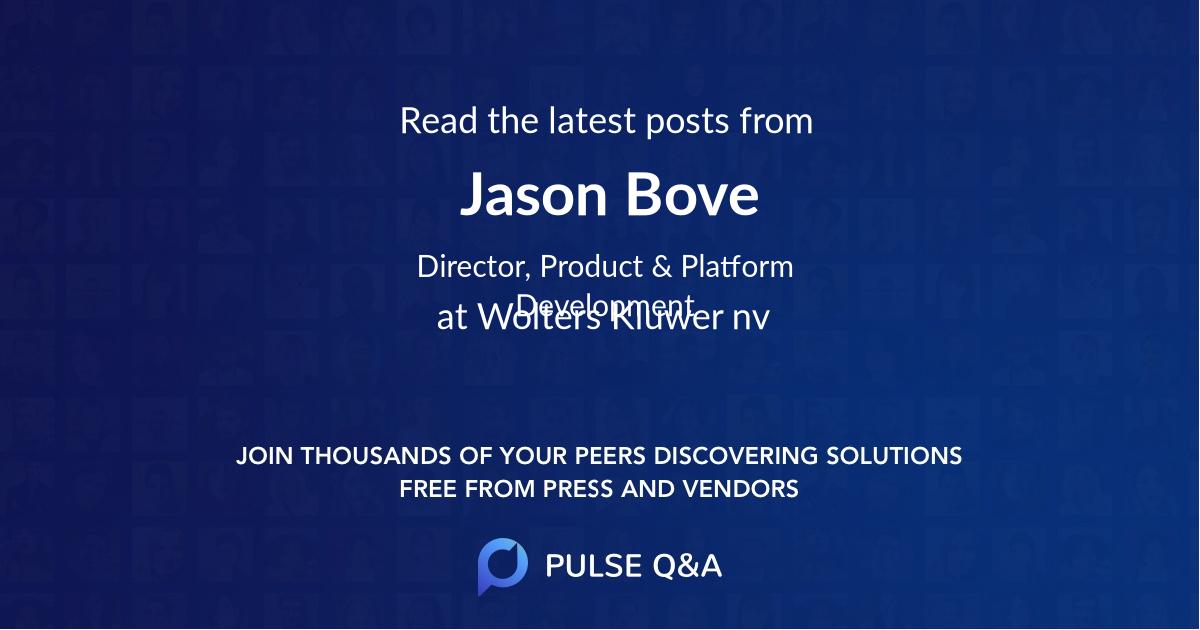 Jason Bove