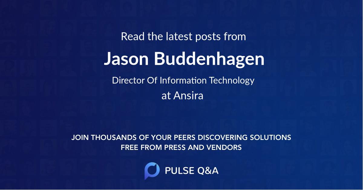 Jason Buddenhagen