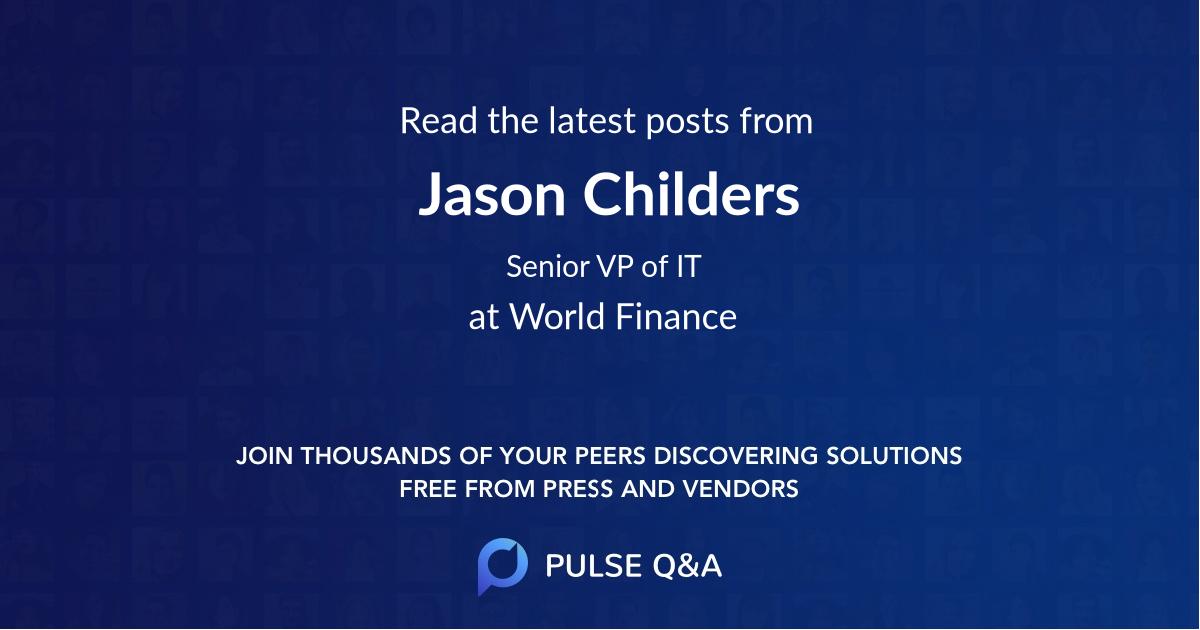 Jason Childers