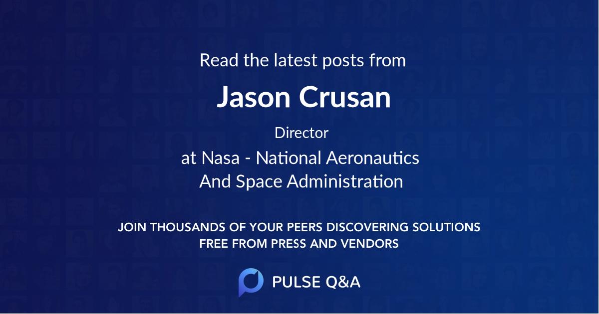 Jason Crusan