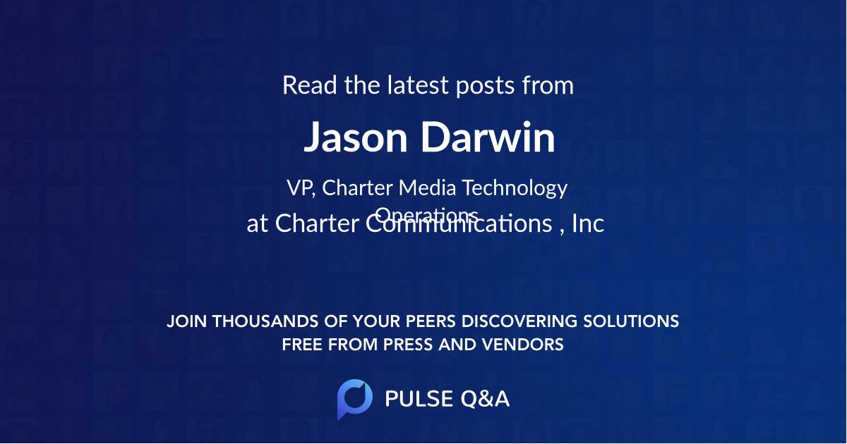 Jason Darwin