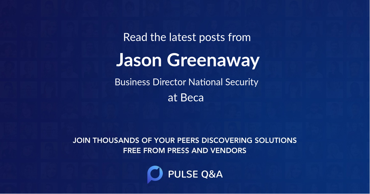 Jason Greenaway