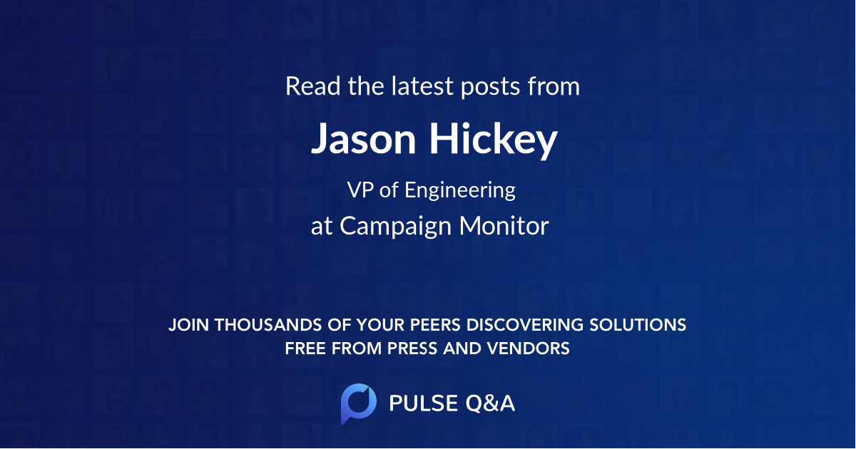 Jason Hickey