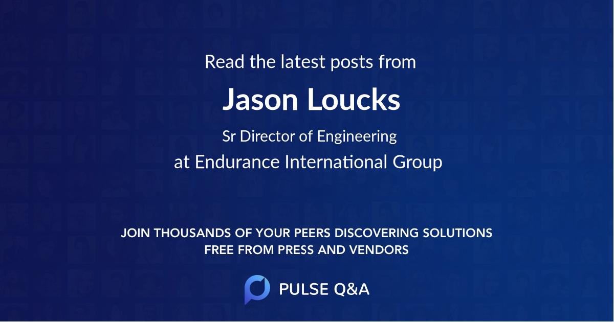 Jason Loucks