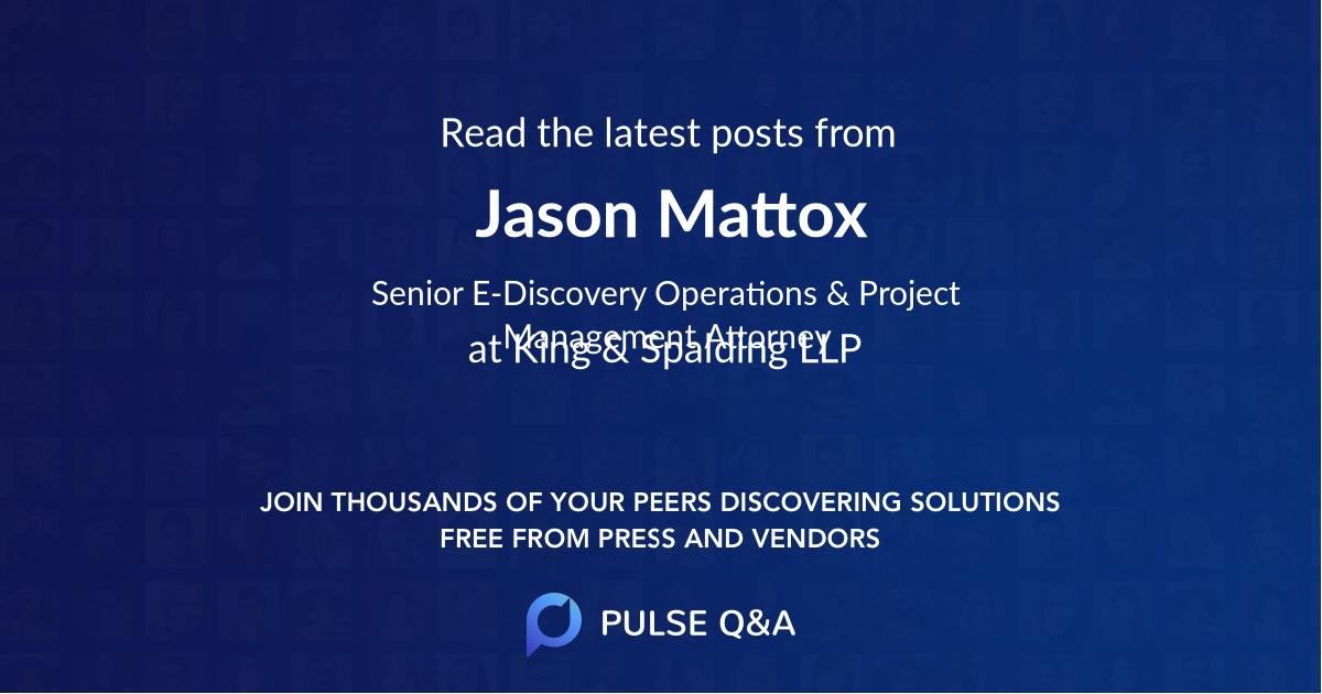 Jason Mattox