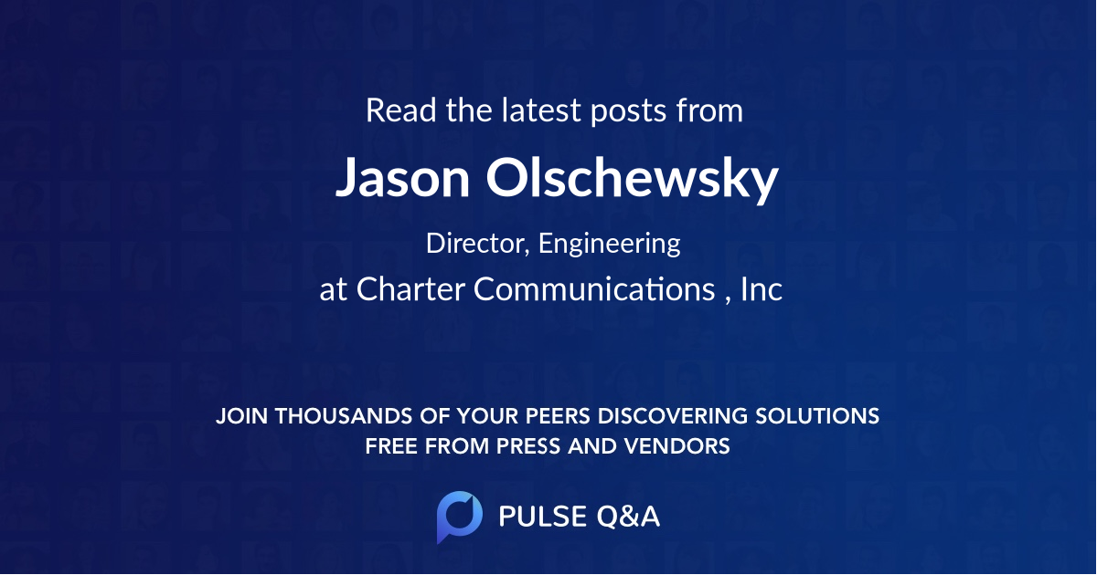 Jason Olschewsky