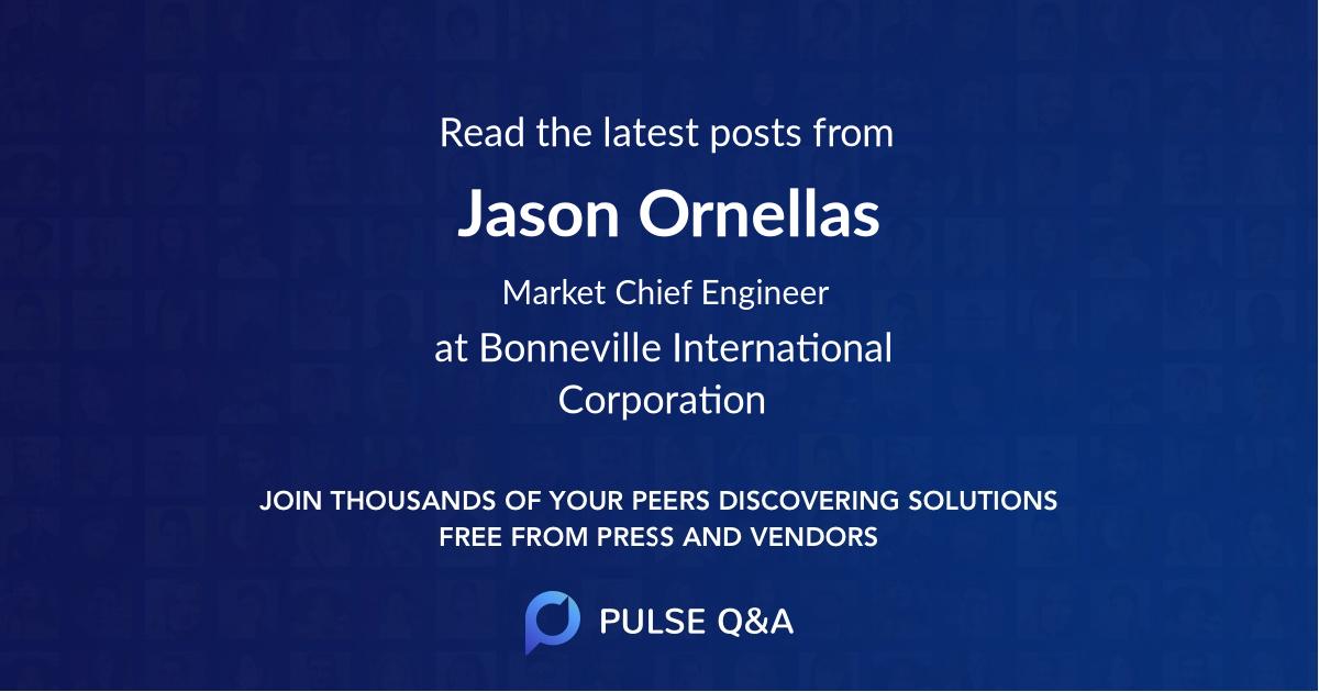Jason Ornellas