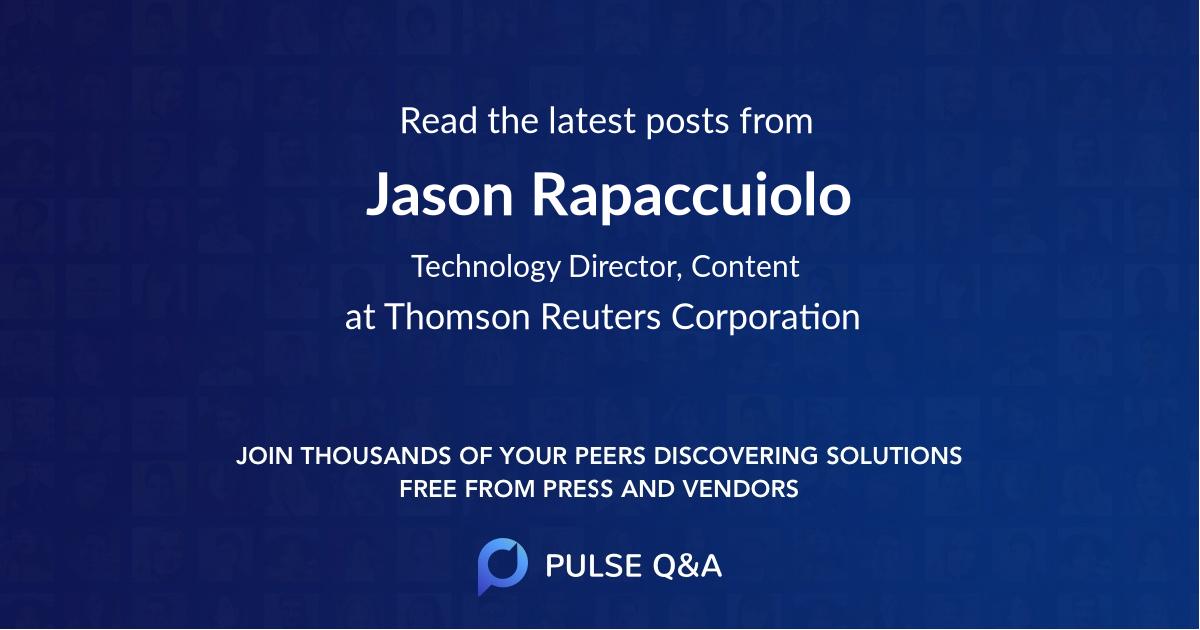 Jason Rapaccuiolo