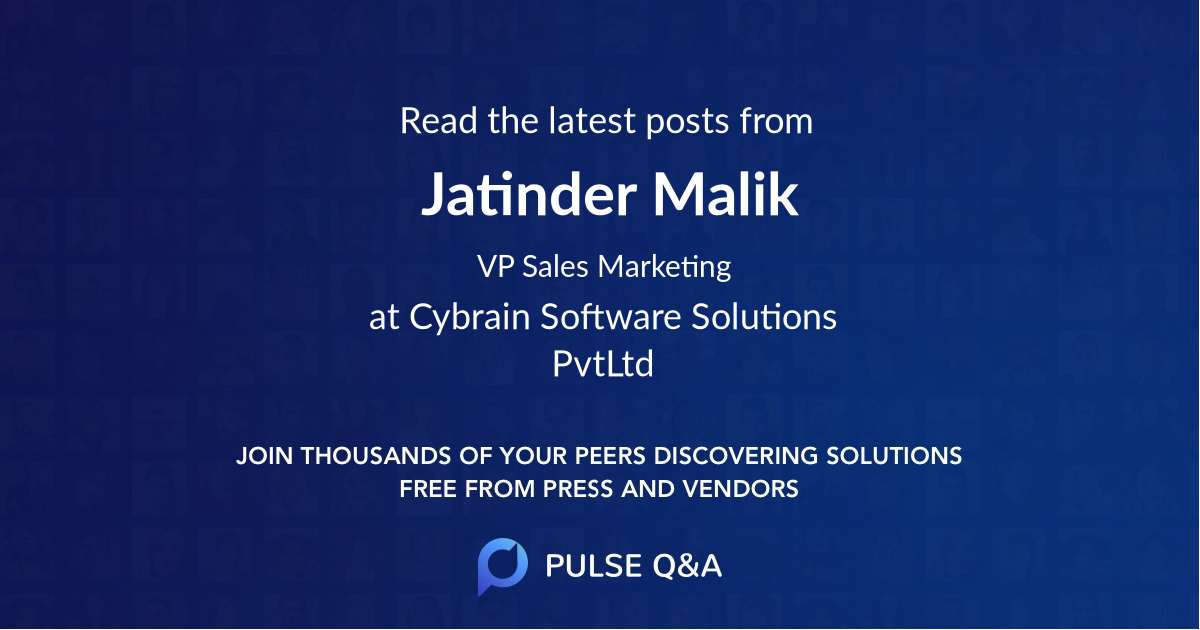 Jatinder Malik