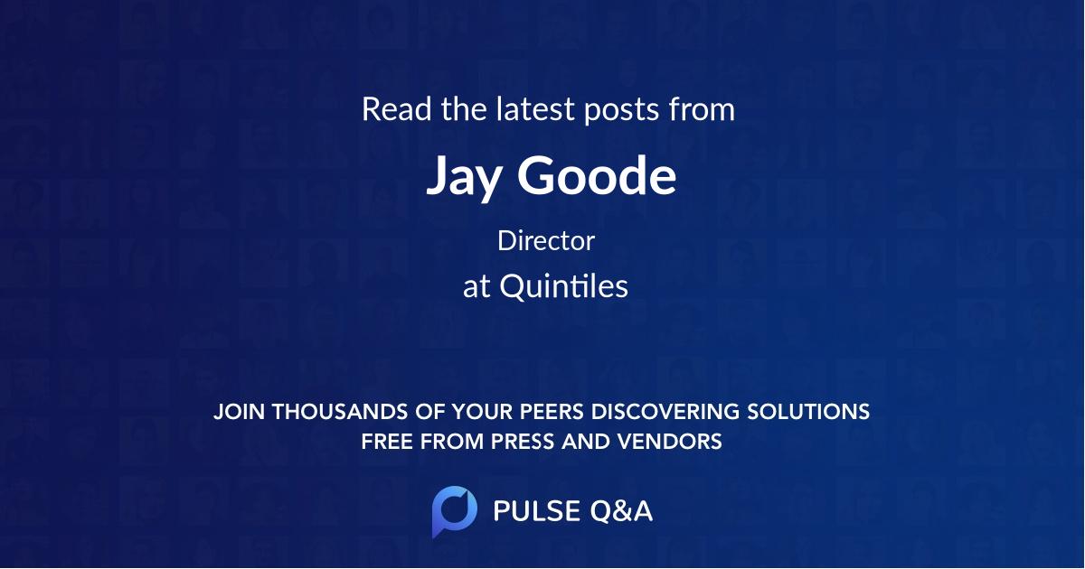 Jay Goode