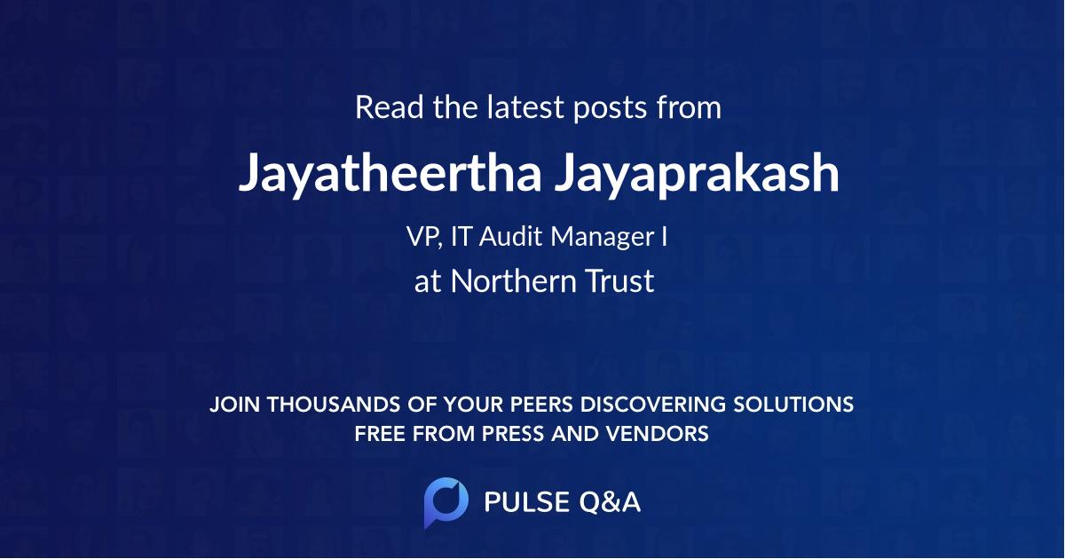 Jayatheertha Jayaprakash