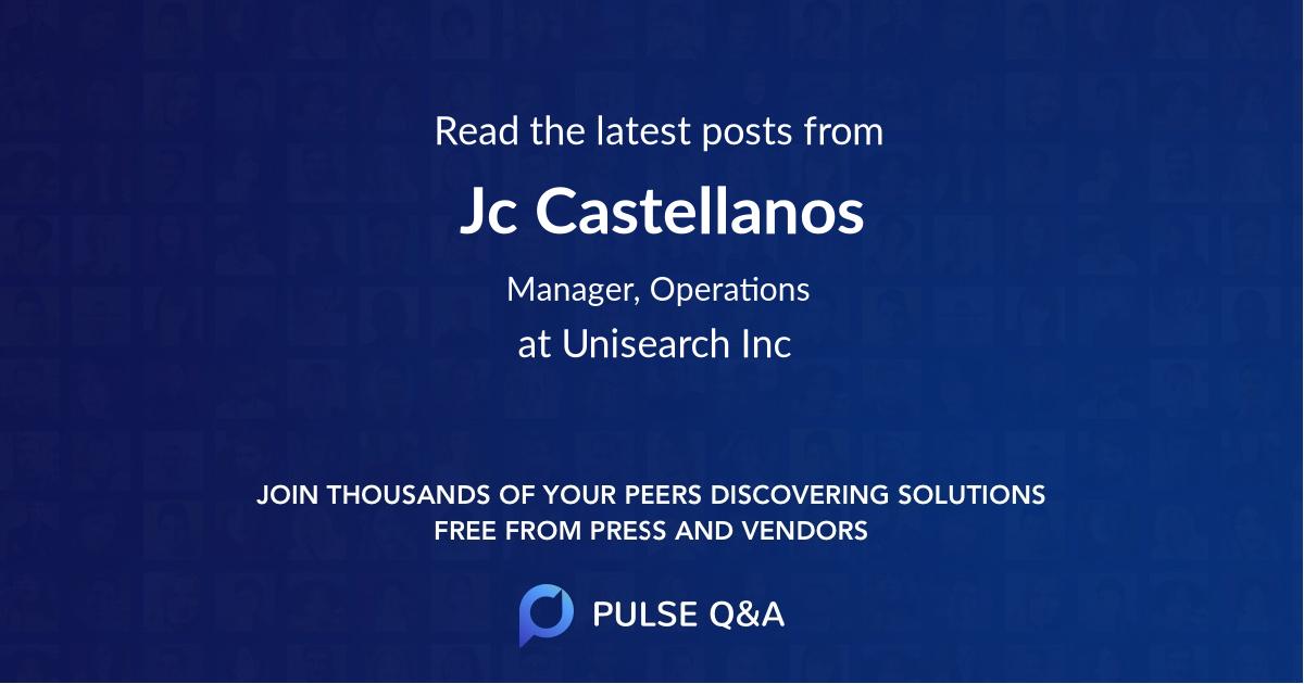 Jc Castellanos