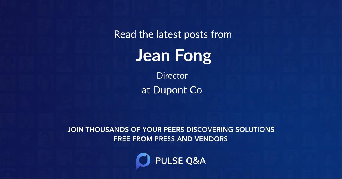 Jean Fong