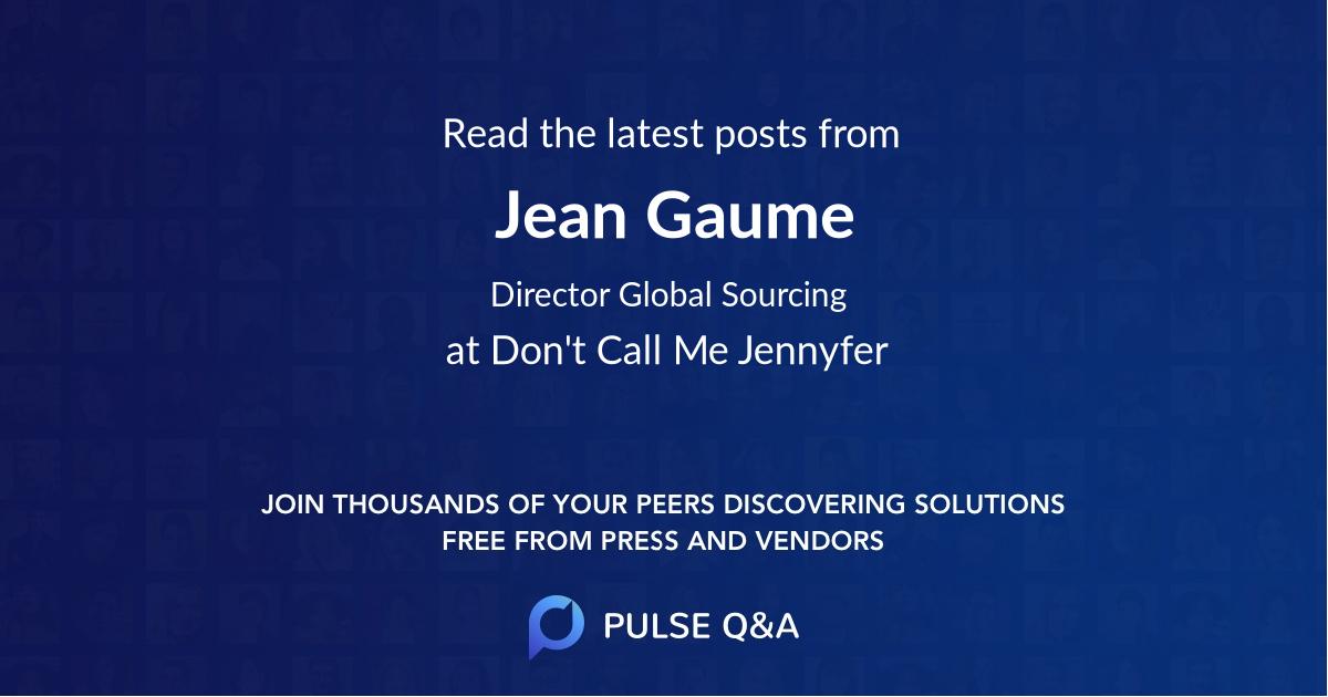 Jean Gaume