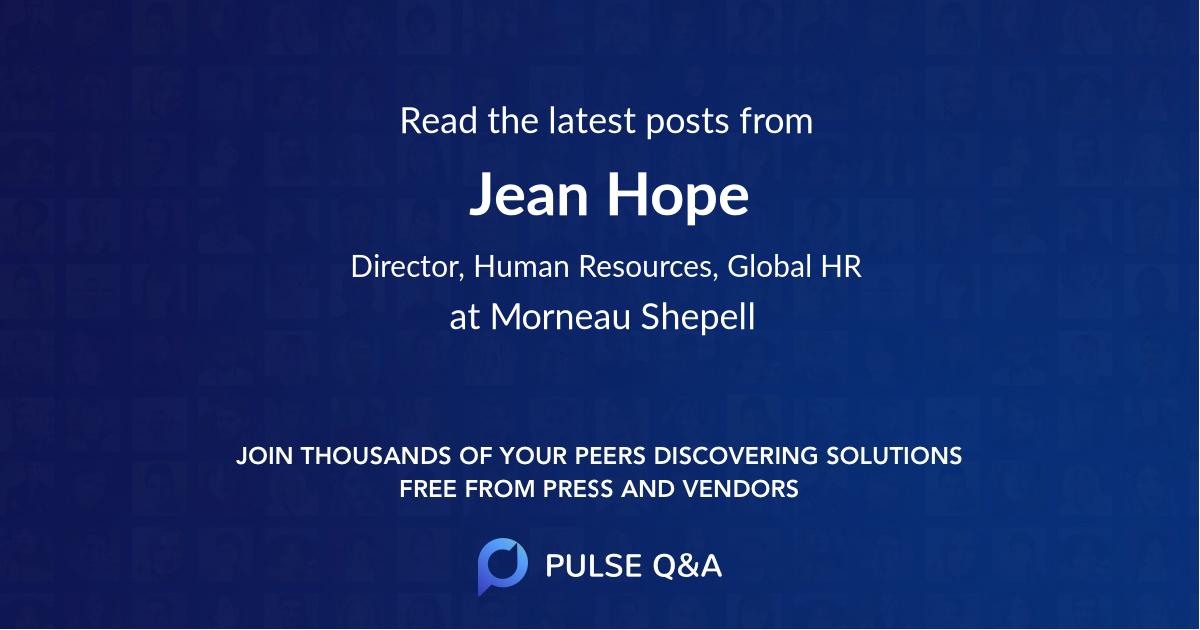 Jean Hope