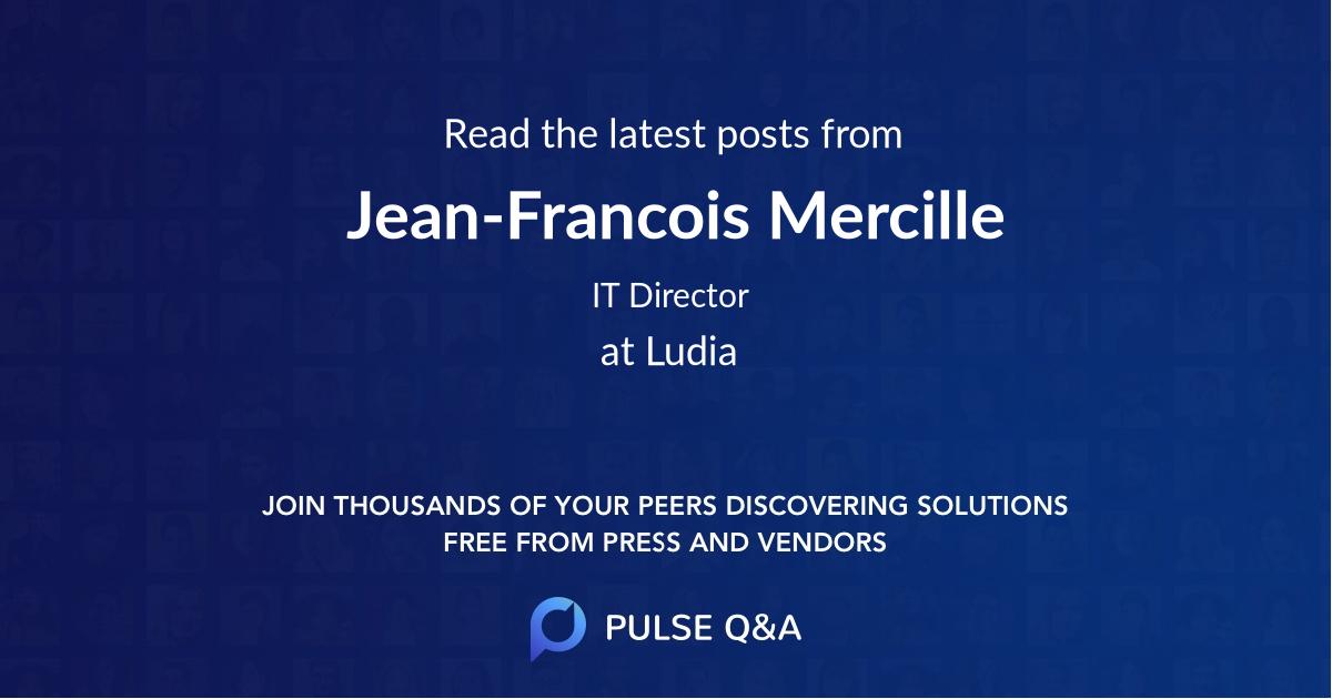 Jean-Francois Mercille