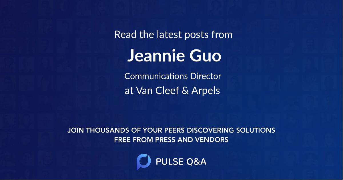 Jeannie Guo