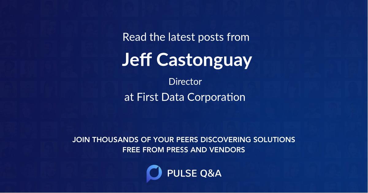 Jeff Castonguay