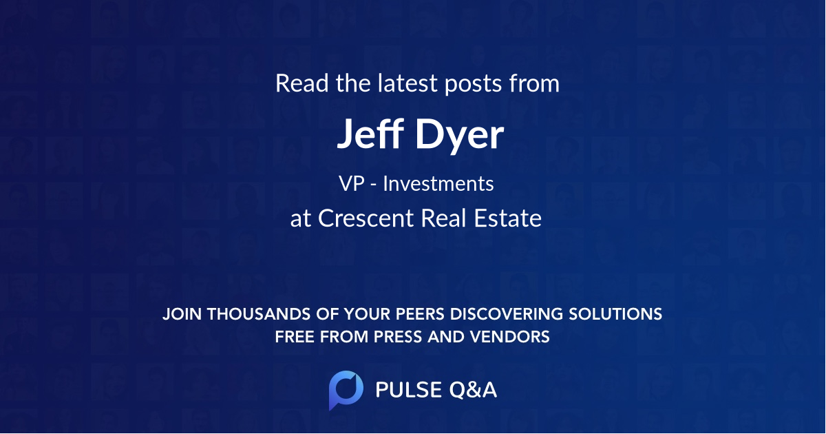 Jeff Dyer