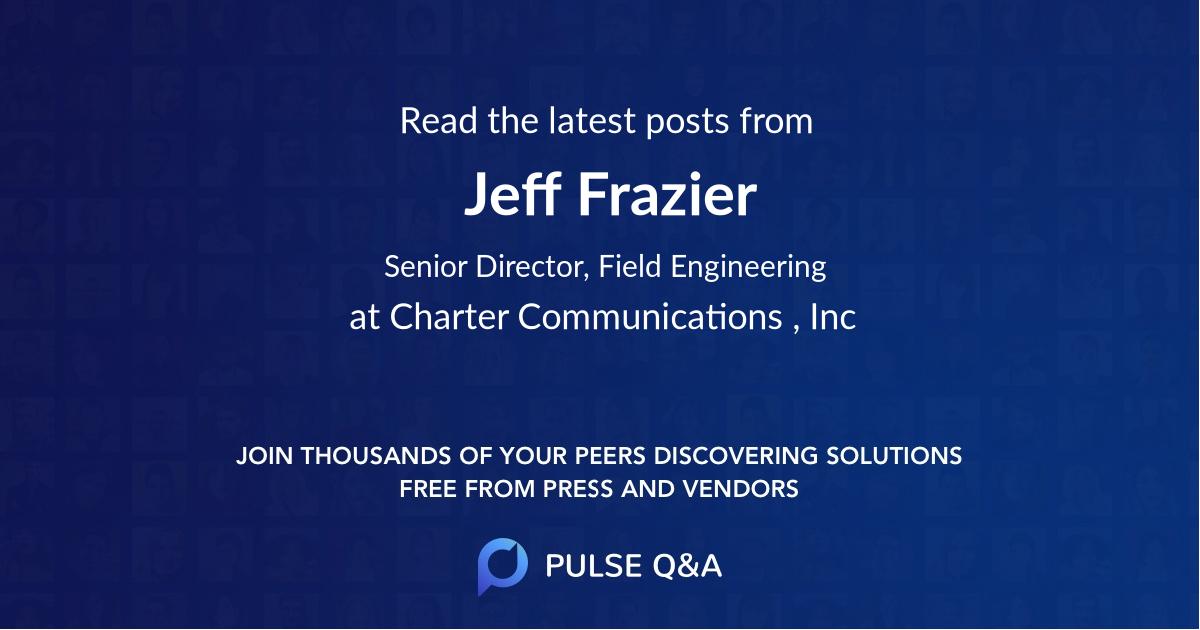 Jeff Frazier