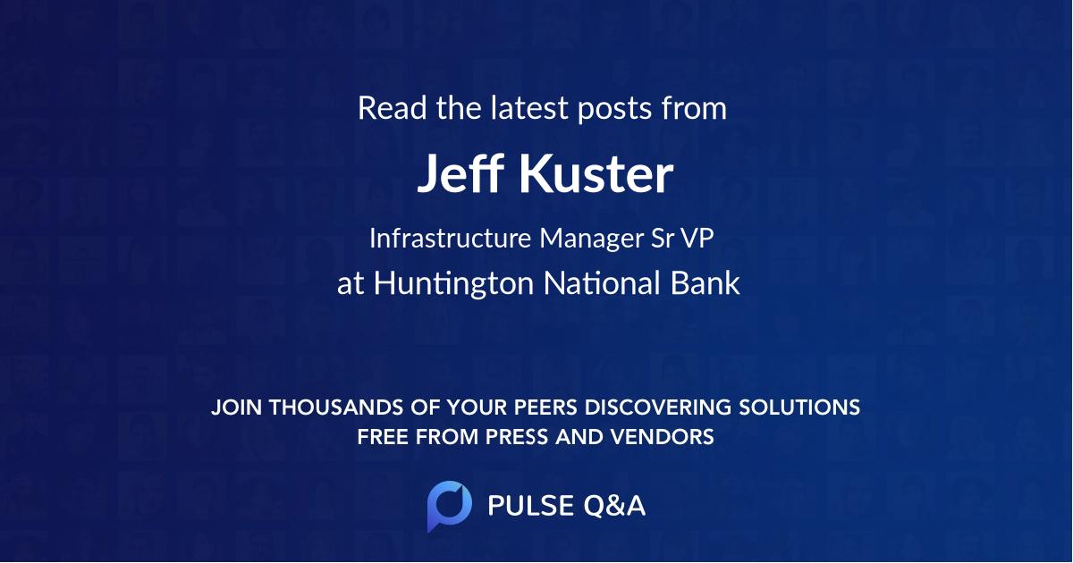 Jeff Kuster