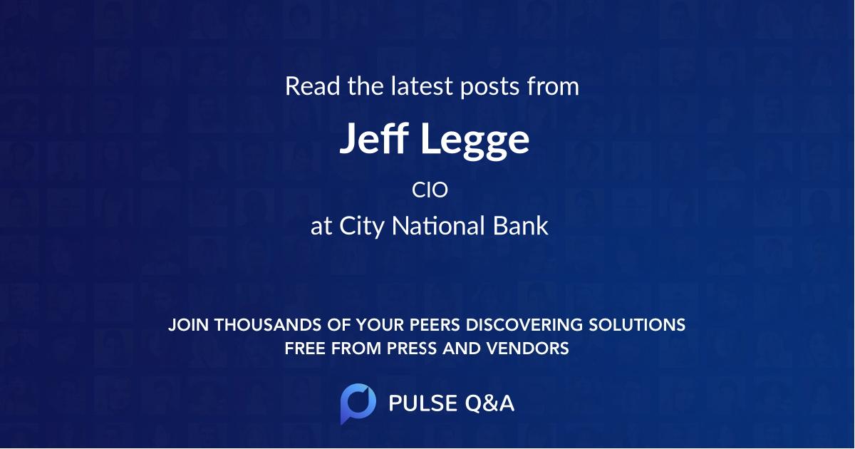 Jeff Legge